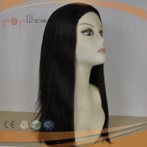 All Remy Human Hair Black Color Long Women Wig pictures & photos