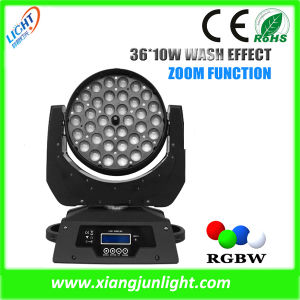 36PCS*10W 4in1 DJ Disco LED Moving Head Beam Light pictures & photos