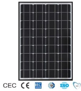 115W TUV/CE/IEC/Mcs Approved Mono-Crystalline Solar Panel (ODA115-24-M) pictures & photos