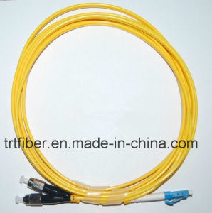 Singlemode FC/LC Duplex Fiber Jumper pictures & photos