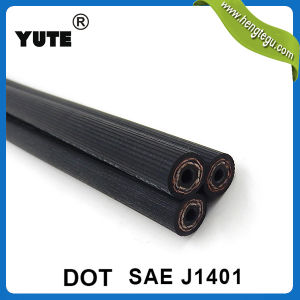 SAE J1401 1/8 Inch Hydraulic Brake Hose in Rubber Hose pictures & photos