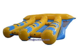 Vinyl Yellow Inflatable Boat From China (TK-032) pictures & photos