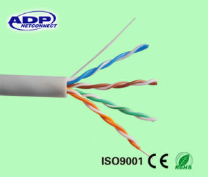 Cat5e Cable 24AWG Copper 305m UL pictures & photos