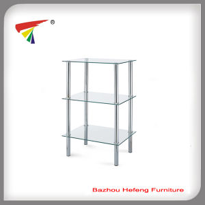 Square Glass Corner Table (C14) pictures & photos