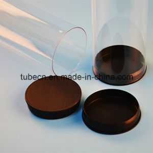 Transparent PETG Tube with Caps for Packaging pictures & photos
