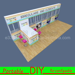 Custom Aluminum Extrusion Portable Modular DIY Exhibition Trade Show Booth pictures & photos
