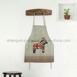 Canvas Apron Kitchen Apron with Long Strap for Adult pictures & photos