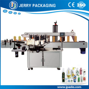 Vertical Automatic Square & Flat Bottle Sticker Label Labeling Machine pictures & photos