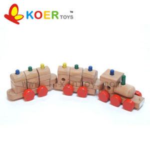 Wooden Toys - Block Train