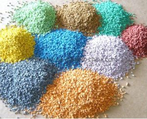 Environmental Friendly Rubber Granule Color Optional