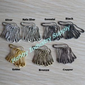 Garment Price Tag 22mm Coiless Pear Safety Pin