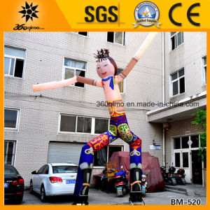 Hot New Two Legs Inflatable Mongolian Air Dancer