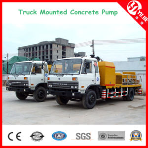 100m3/H High Pressure Truck Mounted Concrete Line Pump pictures & photos