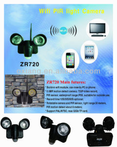 Wireless Remote Real-Time CCTV Camera PIR Motion Detect Record Security Camera Zr720 pictures & photos