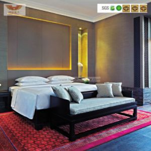 Modern Customized Wooden Hotel Bedroom Furniture Bedroom Set (HY-027) pictures & photos