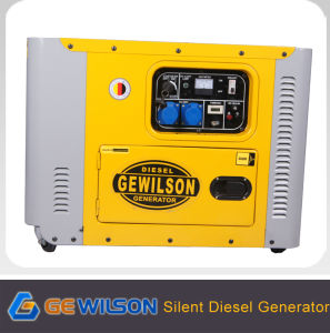 Portable Super Silent Diesel Generator with CE pictures & photos