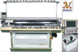 Weihuan (WH) Wh-F Automatic Double System Flat Knitting Machine (12G) Ssg pictures & photos