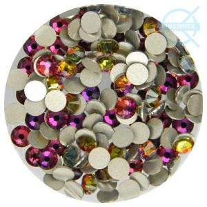 Crystal Volcano Rhinestones Flat Back Loose Rhinestone Supplies 1440PC pictures & photos