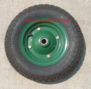 3.50-7 Wheelbarrow Wheel pictures & photos