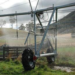 Auto Stop Reverse System for Sprinkler Irrigation System Center Pivot