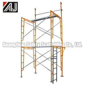 Light Duty Steel Frame Scaffolding for Masonry and Decoration, Guangzhou Factory pictures & photos