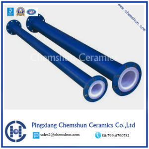 Alumina Ceramic Compounded Pipe for Wear Resistance pictures & photos