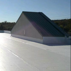 China anti uv pvc polymer single ply roof sheet for for Polymer roofing