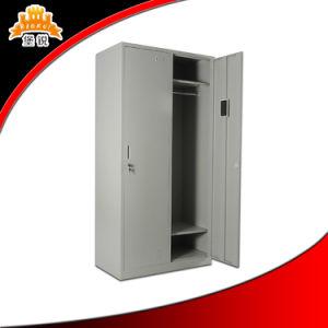 Kd 2-Door Bedroom Storage Clothes Cabinet Locker pictures & photos