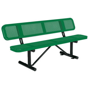 "72"" Bench with Backrest Top"