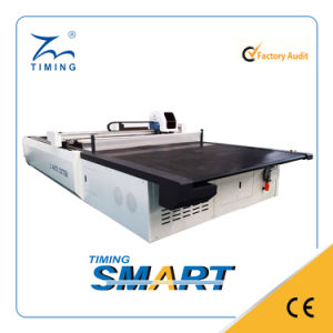 Computer Controled Automatic Garments Fabric Shape Cutting Machine pictures & photos