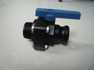 Male Ends Plastic Ball Valve with Lever Operator pictures & photos