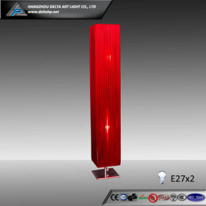 Red Strings Shade Floor Lamp with Metal Base (C500032-1R) pictures & photos