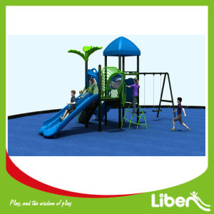 Outdoor Play Structure Playground Equipment with Slide (LE. ZI. 011) pictures & photos