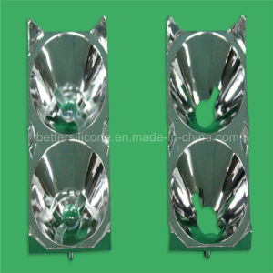 Electroplating Aluminum PC LED Lighting Cover pictures & photos