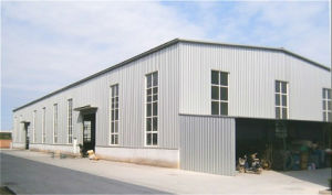 Prefabricated Light Steel Structure Metal Workshop (KXD-SSW1153) pictures & photos