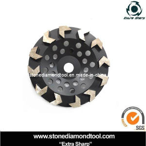 Turbo Diamond Abrasive Cup Grinding Wheel (DGW-15) pictures & photos