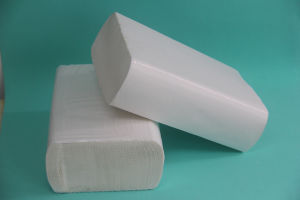 Hand Paper Towel 6 Fold High Quality Virgin Material pictures & photos