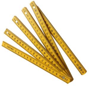 Plastic Folding Ruler 2meters 10 Folds Mte4102 pictures & photos