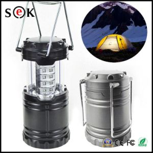2017 Newest Wholesale Price Solar Lantern Camping Light with Power Bank Solar Camping Lantern pictures & photos