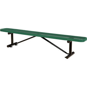 "96"" Steel Bench - Top Plank"