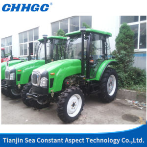Economic High Quality Four Wheel Tractor with Pilothouse pictures & photos