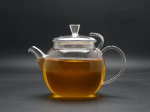 New Design, High-Quanlity and Best Selling Borosilicate Glass Teapot (GT018) pictures & photos