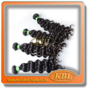4abrazilian Hair Extension, Natural Color Remy Human Hair pictures & photos