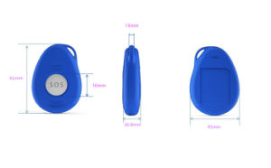 GPS Personal Tracker with Fall Alarm Detection pictures & photos