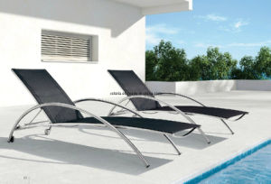 Good Quality Outdoor Stainless Steel Chaise Lounge Chair pictures & photos