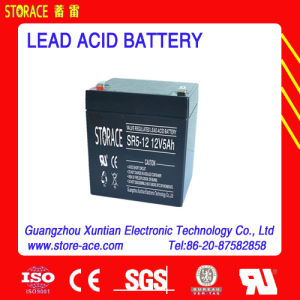 12V 5ah Accumulator / AGM Lead Acid Battery (SR5-12) pictures & photos