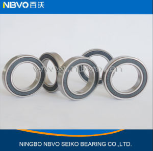 Rubber Seals Micro Radial Deep Groove Ball Bearing