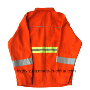 Reflective Safety Jacket for Cleaning Workers (C2402) pictures & photos