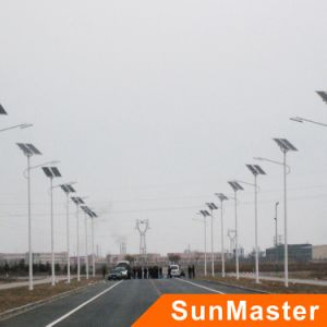 100W Aluminum Alloy High Efficiency Solar Energy LED Street Light, pictures & photos