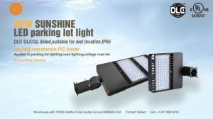 Outdoor LED Lighting Dlc LED Shoebox Light 150W pictures & photos